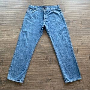 Burberry London Jeans Sz 38 Med Wash Button Fly